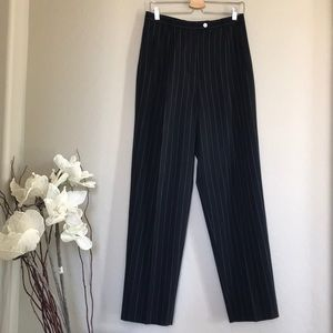 max mara high rise vintage striped pants Sz 6